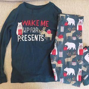 WonderKids Toddler Boys' Christmas Pajama Set